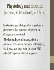 Physiology and Emotion.pptx