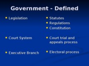 Class _1 legal system and ethics