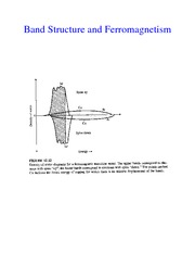 Band Structure and Ferromagnetism