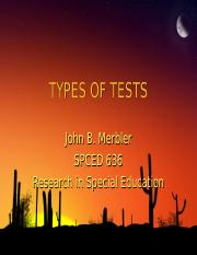spced636Types_of_Tests.ppt