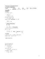Pre Algebra section_2.6