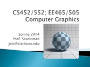 lecture 1 on Computer Graphics
