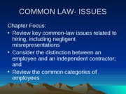 CHAPTER_3_-_COMMON-LAW_ISSUES