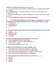 BIS 219 Final Exam  3rd Set #54 Questions with ANSWERS
