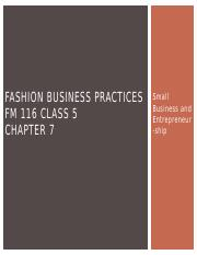 BUSN10 FM 116 Chapter 7 - Small Business and Entrepreneurship(1).pptx
