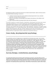 research design and five perspectives.answers.fall 2012