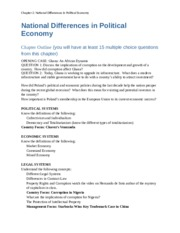 Study Guide_Chapter 2 - National Differences in Political Economy.docx