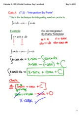 Calculus_A_-_IBP_&_Partial_Fractions,_Day_1
