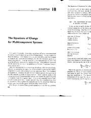 ECH143-Reading Assign 2 Equations of Change for Multicomponent Systems-Bird, Steward and Lightfoot