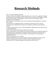Research Methods (2)