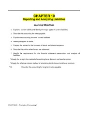 Ch 10 Notes