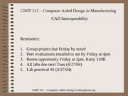 CAD Interoperability 04
