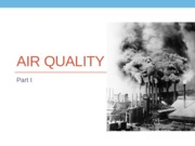 Lecture 9a - Air Quality
