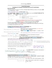 1 CFA II-Derivatives 关键词清单.docx