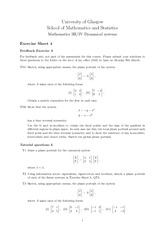 Exercise Sheet Problem Set 4