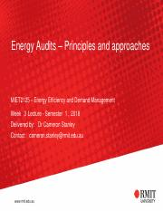 Week 3 - Energy Audits - principles and approaches.pdf