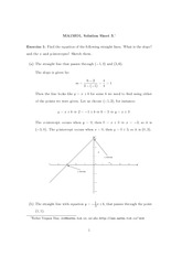 Problem Set 3 Solution on Mathematical Functions