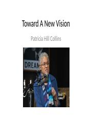 Toward A New Vision.ppt