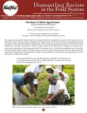 Bandele & Myers_2016_The Roots of Black Agrarianism.pdf