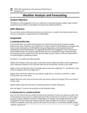 Assignment 3 - Weather forecasts
