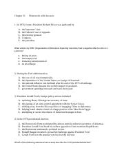Chapter 31 Homework and Learnsmart questions