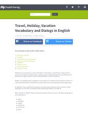Travel, Holiday, Vacation Vocabulary and Dialogs in English.pdf