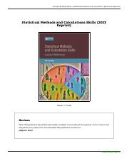 -statistical-methods-and-calculations-skills-2013-0702177539-livres