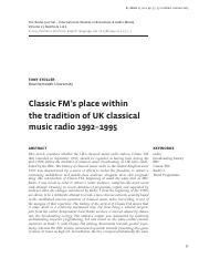 Classic FM's place within music radio.pdf