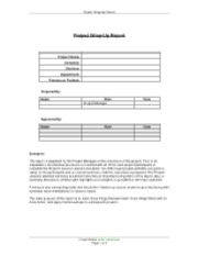 preliminary project charter worksheet The preliminary scope statement is one of the first project artifacts you will want  to develop why you ask because it is where you start to.