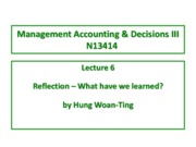 Lecture 6 Reflection - lecture copy