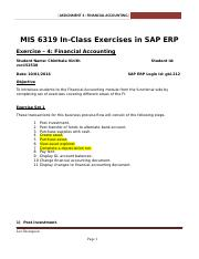 SAP Exercise 4 - Accounting.docx
