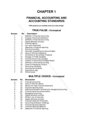 Chapter 1 Accounting Standards.Test Bank (2)