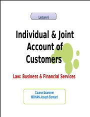 L6 Individual and  Joint Account 2016-17 (2).ppt