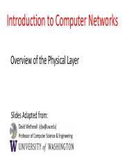 LEC 020 Physical layer