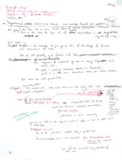 Asynchronous Discussion Notes