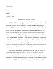 3 Pages Argumentative Essay