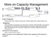 class 4 More on Capacity Management postclass