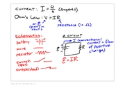 physB notes- resistence and power
