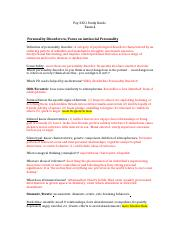 Personality disorders study guide.docx