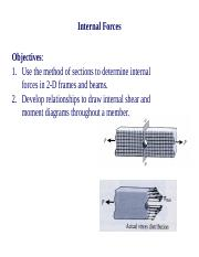 11_Topic 11 - Internal Forces