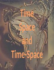 GEO 106 LECTURE 7 -TIME, SPACE, AND TIME-SPACE.pptx