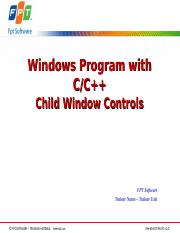 Lesson05.2_Child Window Controls.ppt