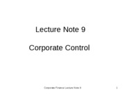 Lecture Note Nineth_Tsing Hua_2009