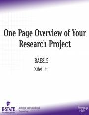 02 BAE815_One page overview of your research project.pptx