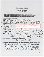 100A F14 midterm solutions