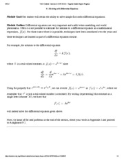 9.1 Modeling with Differential Equations