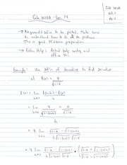 MATH19 Lecture Notes (2013) - #14