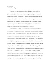 Blink reflection paper