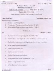 (www.entrance-exam.net)-PTU B.Tech Engineering Mathematics Sample Paper 4.pdf