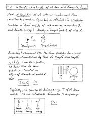 Physics 340a_Lecture Notes on de Broglie Wavelength of Electron and Heavy-Ion Beams